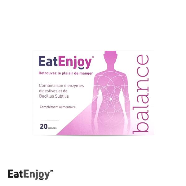 EatEnjoy Balance : Gélules d'enzymes qui vous aident à apprécier les aliments que vous mangez